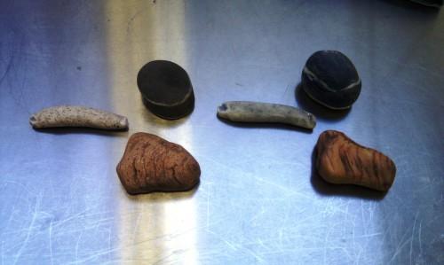 Marzipan stones