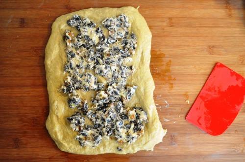 Simnel cake dough 4