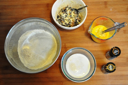 Simnel cake ingredients