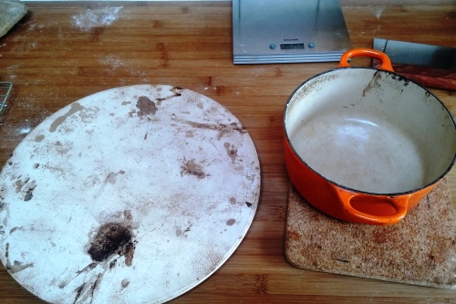 Stone and casserole