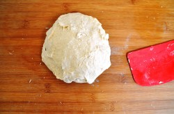 Kubaneh - kneading dough