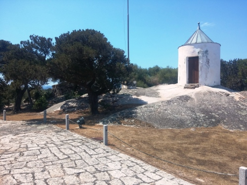 Garibaldi's forno (under tree on right) and mill (left,without sails)