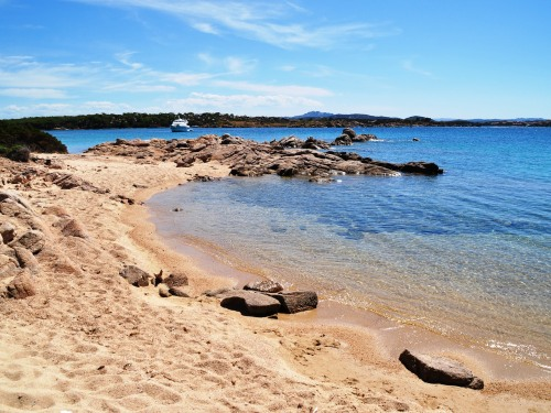 A beach on Isola Caprera, Sardinia. Pic: Fran Hortop