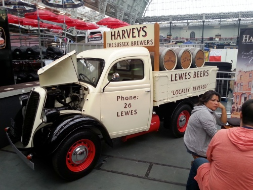 The splendid new-old Harveys van