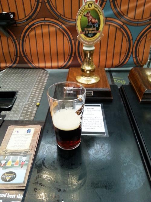Triple FFF Brewery's Pressed Rat and Warthog