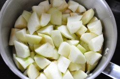 Bramley apples to stew down