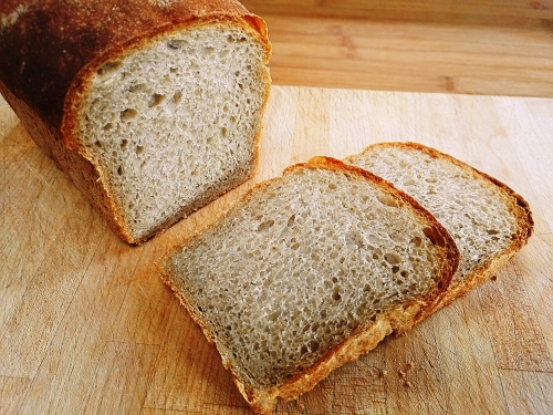 Bread with Sussex landrace flour