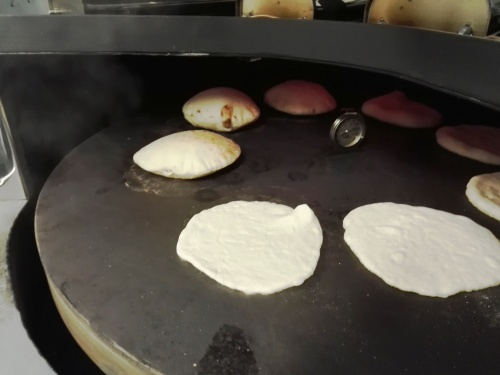 Pittas baking