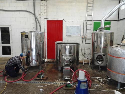 Steve Keegan at Holler Boys Brewery