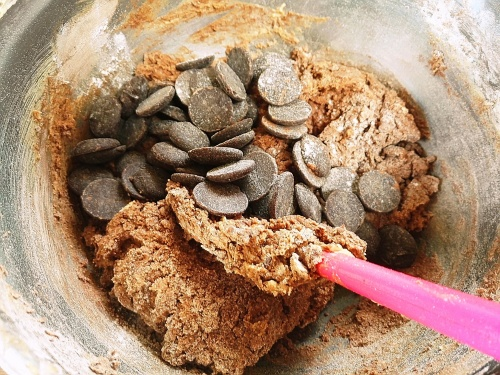 Choc chip nut butter cookies mix