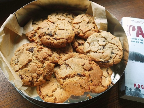 Peanut butter buckwheat cookies