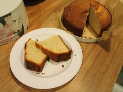 Mary Berry Madeira cake