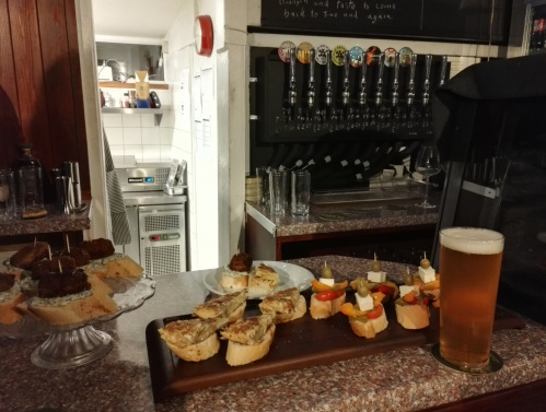 Pintxos at The Patch, Lewes