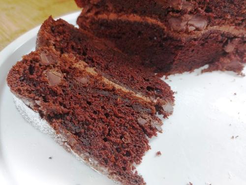 Chocolate courgette zucchini cake